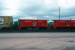 WP 485, 486, NEW Bay Window Caboose, built 5-1980