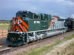 UP 1983, NEW EMD SD70ACe, UP's WP Heritage Locomotive,