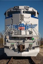 "UP 1943, ""Spirit of Union Pacific"", EMD SD70AH,"