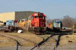 NREX 5814 and several other SD40 Engines