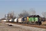 HLCX 7065 CSX J 785 Southbound