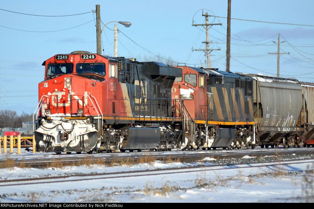 CN 369 CN 2249 CN 2417 Mile 219.5 Kingston Sub