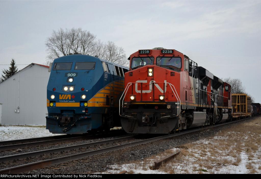 CN 331 CN 2238 West, Mile 68.52 Dundas Sub
