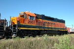 BNSF 2007, GP38-2 NRE rebuilt GP40, NEW at NRE Shops