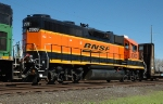 BNSF 2009, GP38-2 NRE rebuilt GP40, NEW on the KCS