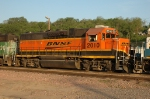 BNSF 2010, GP38-2 NRE rebuild from GP40, at Gibson Yard