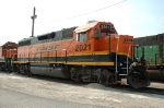 BNSF 2021, GP38-2, NRE rebuild from GP40, sits at Eola Yard