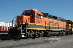 BNSF 2022, EMD GP38-2, at Eola Yard