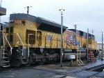 UP 8479 at the Oakland Yard
