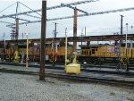 Locomotive Maintenance Facilities at the Oakland Yard