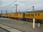 Union Pacific Business Cars in the Oakland Yard