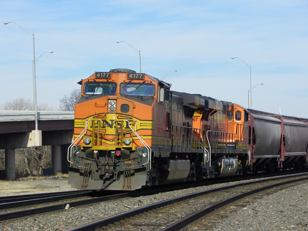 BNSF C44-9W 4177