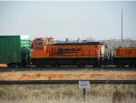 BNSF MP15DC 3704