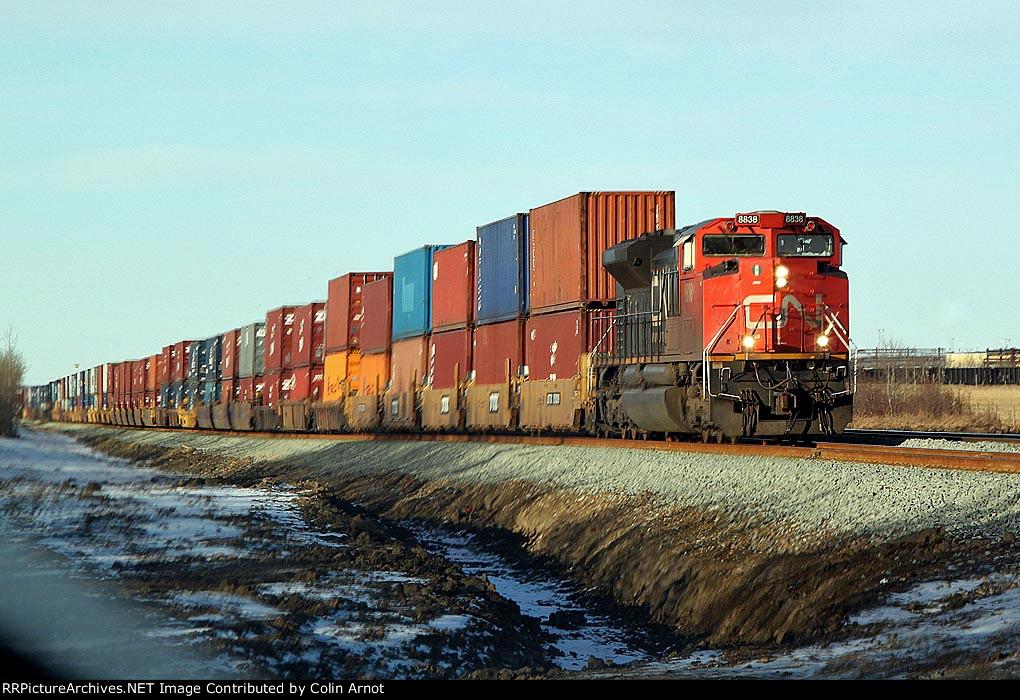 CN 8838 Wainwrigh t Sub Eastbound at Range Road 231