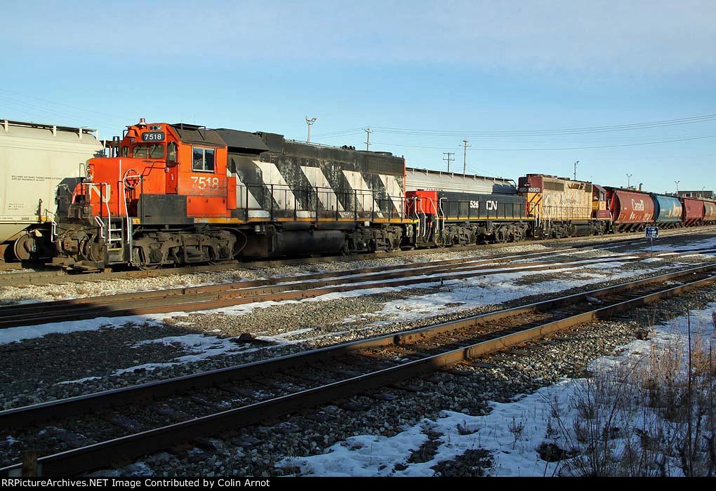 CN 7518 Walker Yard