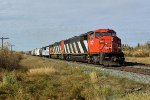CN 5551 South through Looma on the Camrose Sub