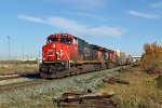 CN 2629 heads south on the Camrose Sub
