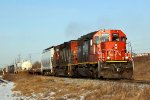 CN 6003 Heads south on the Camrose Sub