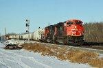 CN 8876 West bound at Ardrossan
