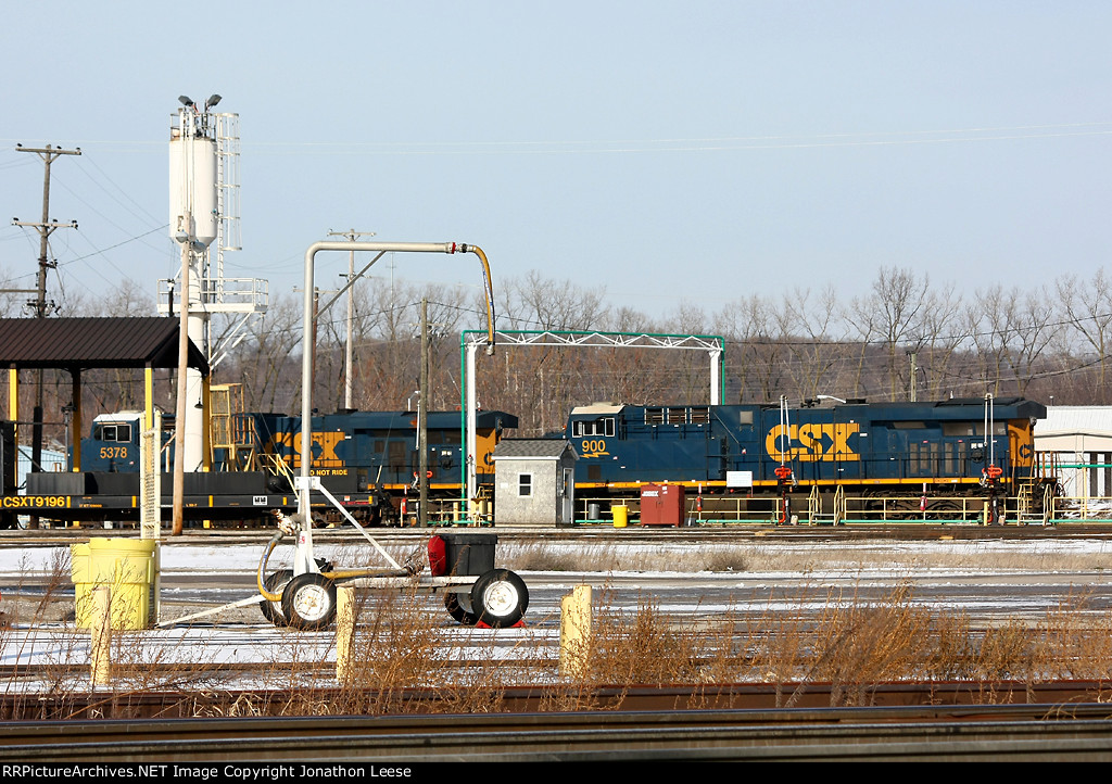 CSX 900 and 5378