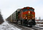 BNSF 5502 leads E280 to Flint