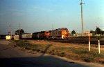 BNSF westbound in Tulsa