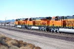 BNSF 6888, BNSF 6885, and BNSF 6887 roll past me as they continue west with the S LPC-LAC.