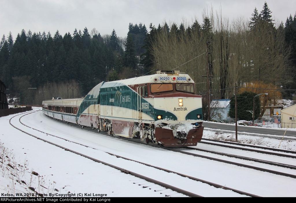 Amtrak Cascades NPCU #90250