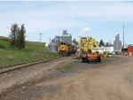 Ex Up locomotives on Ex UP track