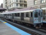 CTA 3199 & 3200 at Quincy station in the Loop
