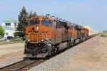 BNSF Stack Train in Modesto