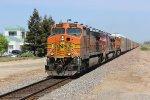 BNSF Vehicle Train in Modesto