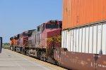 BNSF Z-Train in Modesto
