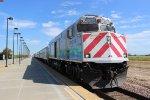 Amtrak 712 Departs Modesto