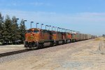 BNSF Vehicle Train in Modesto
