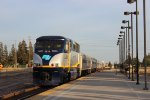 Amtrak 717 in Modesto
