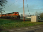 BNSF 664 out of Albany bound for Portland Yard