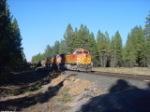 BNSF 4526 Southbound at LAVA MP 12.6z on the Oregon Trunk subdivsion
