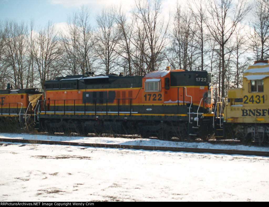 Used to be BNSF 1722
