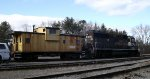 CP 4650 and Naperville Junction Caboose