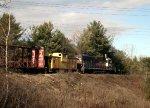 CP 4650 Switching Saratoga Yard