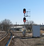 New NS signals located at the UP/NS diamond.
