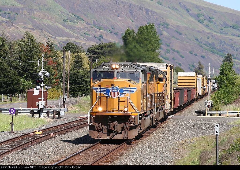 West of The Dalles