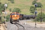 Three views of BNSF 7519-I