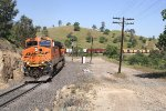 Three views of BNSF 7519-II