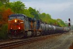 CSX Q366 screams eastward