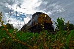 Cloudy Skies over CSX 5257