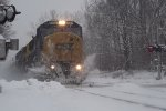 CSX Q633 Roars eastward through  the CP-VO Sector