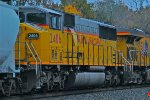 UP 2406 tri window SD60