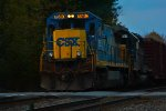 CSX 7580 roars eastward through the VO Sector nearing its termination point in Selkirk